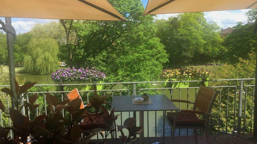 restaurant terrasse parkhotel tagungshotel landau