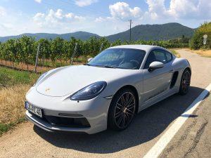 Porsche Tour Pfalz Weinberge Landau