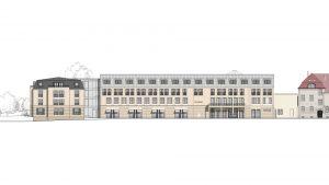 Neue Westfassade Parkhotel Landau Südpfalz