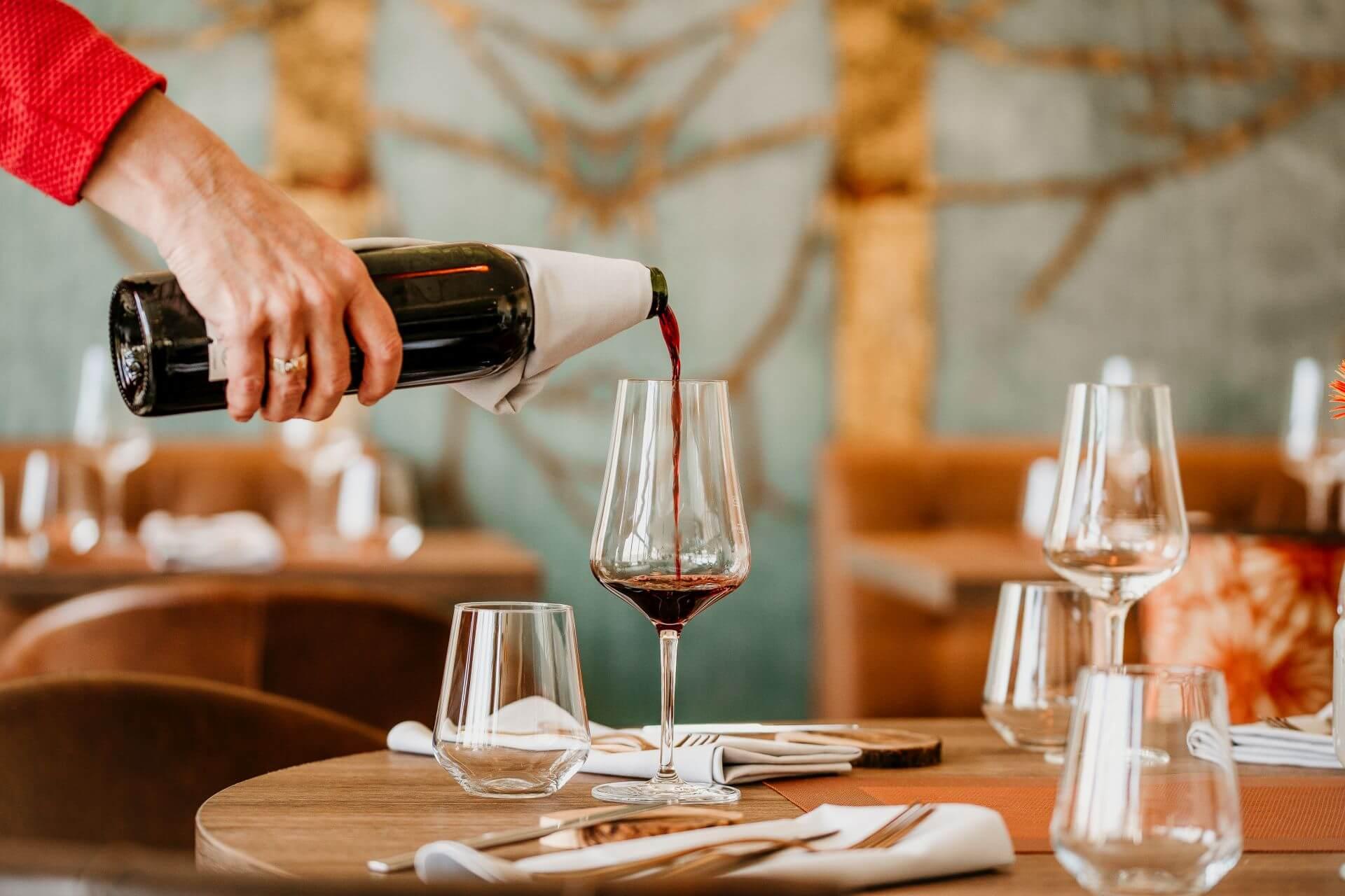 Wein, Dinner