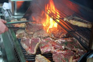 Catering, Grill, T-Bone-Steak