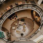 Foyer Parkhotel Von Oben
