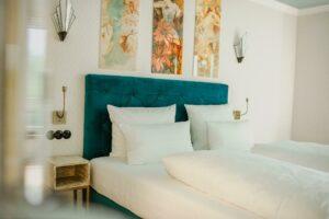 VillaamPark Ausschnitt Bett PremiumZimmer