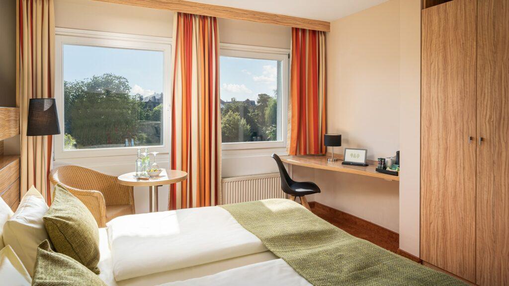 Zimmer Landau Parkhotel Suiten Südpfalz Komfortzimmer