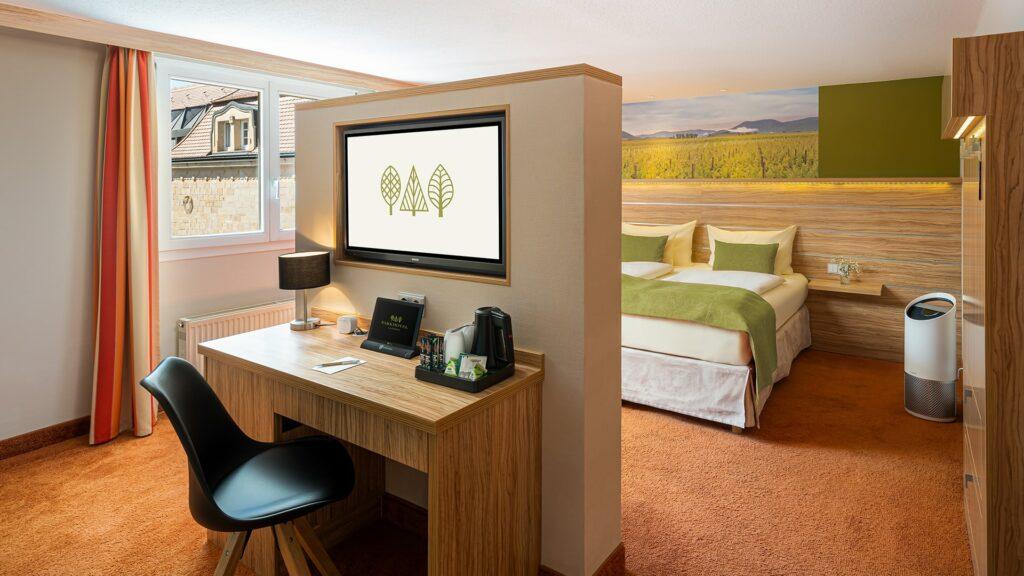 Zimmer Parkhotel Südpfalz Landau Familienzimmer
