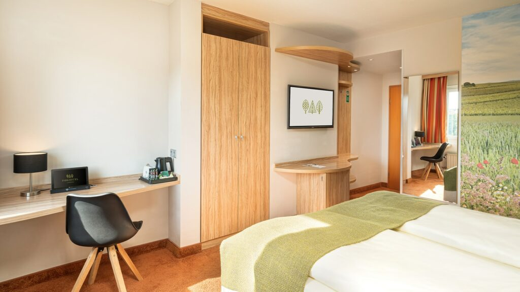 Zimmer Parkhotel Suiten Südpfalz Landau Komfortzimmer
