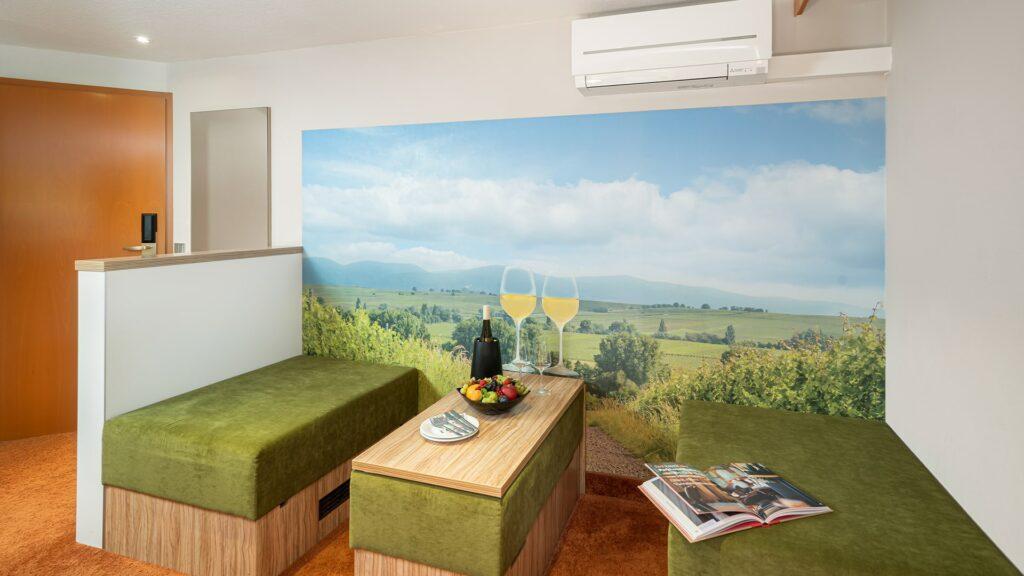 Zimmer Südpfalz Landau Parkhotel Suiten Familienzimmer