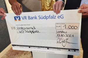 Spendenübergabe WJ Südpfalz 2